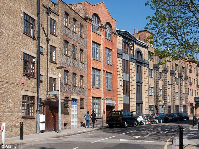 New pastures: Grosvenor Group says it is branching out from its traditional Mayfair and Belgravia turf, and targeting more affordable rental homes south of the river in Bermondsey (pictured)