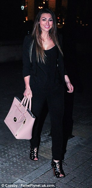 Got it in the bag: Luisa kept all her essentials in her handy Mulberry bag