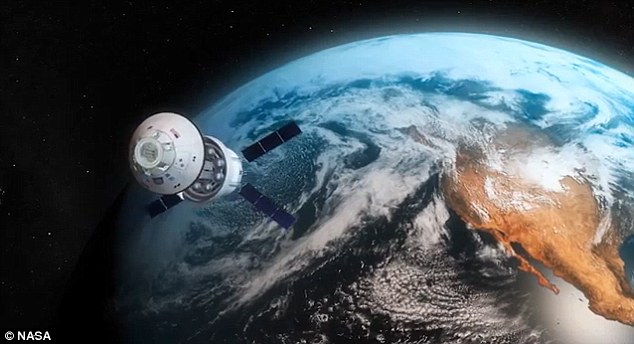 On 4 December 2014 Orion will launch on its first ever mission. The capsule will be raised to an altitude of 3,600 miles (5,800 kilometres) to simulate a return from Mars, giving it a very high re-entry speed of about 20,000 miles (32,000 kilometres) per hour - the fastest since the days of the Apollo missions