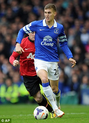 Everton's John Stones has impressed this season