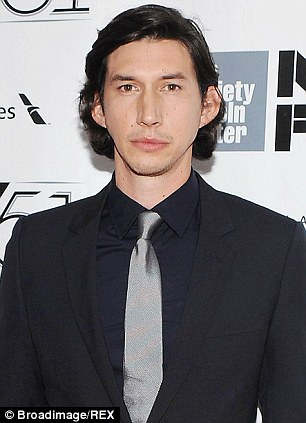 New faces: Domhnall Gleeson and Girls actor Adam Driver are among those confirmed to start shooting the film in May