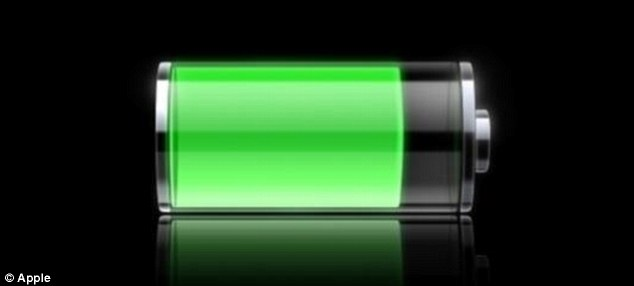Researchers from Tennessee have developed a 'revolutionary' design that extends the life of a battery, stock image pictured, by 26%. This could translate into years, or even decades, depending on how the battery is used. As the new battery discharges, an element is released that gives the charge a boost