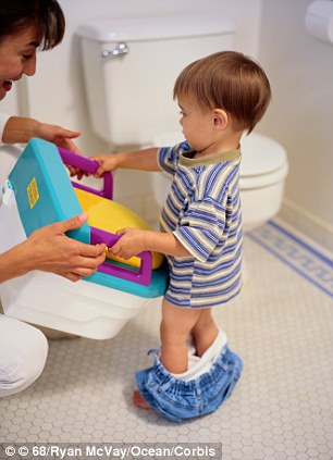 Lazy: One parent said toilet training was too much hard work