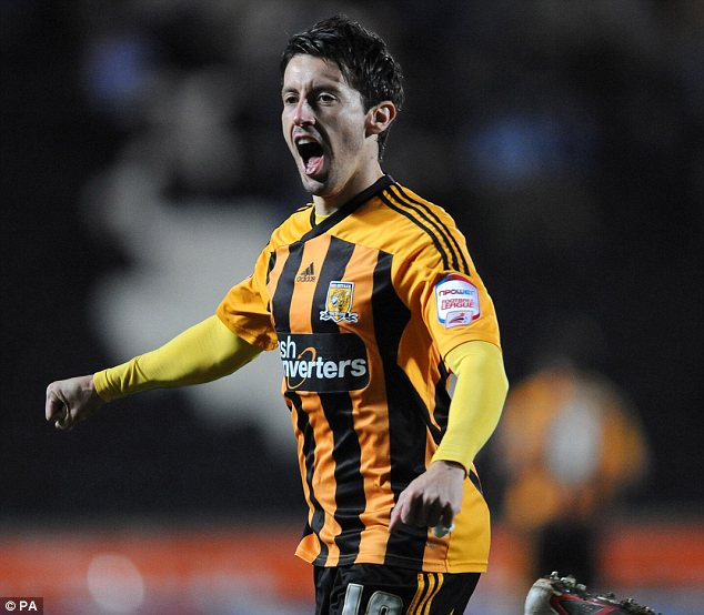 Frustrated: Hull City's Robert Koren is eager for chance to impress