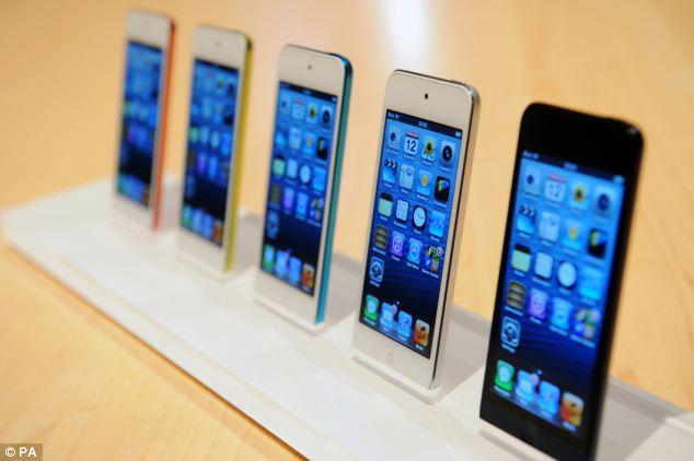 The Amazon handset has a beveled edge similar to apple's iPhone 5