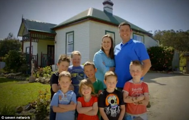 Motivation: Brooke and Grant have the biggest motivation to win - they're fighting to keep their blended family of seven children together. If they don't win, Grant says Brooke would have to move out in order to save their relationship