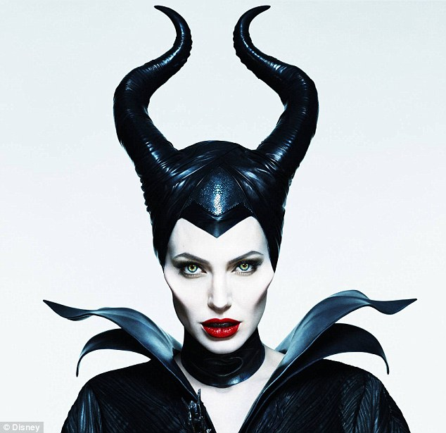 Quite convincing: Jolie as Maleficent in the feature film, due out on May 30