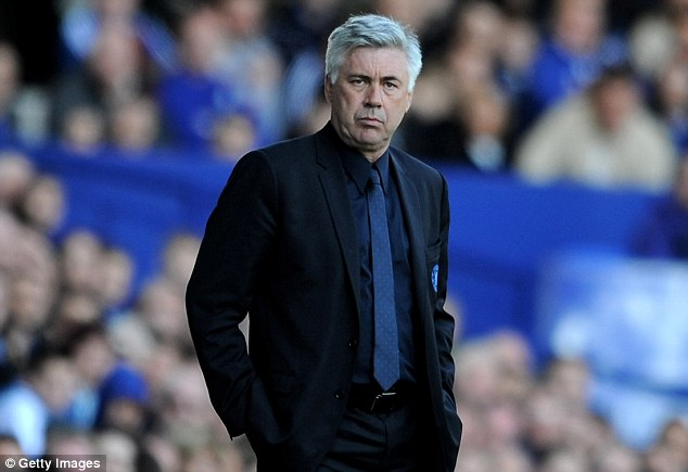 Axed: Roman Abramovich sacked managers like Carlo Ancelotti for finishing seasons trophy-less