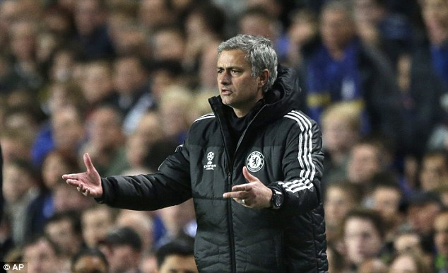 Frustration: Jose Mourinho failed to guide Chelsea to the Champions League final