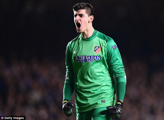 Stellar Courtois: Chelsea's loan keeper is now ready for the Stamford Bridge first team