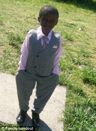 Fearless: A 9-yeasr-old Virginia boy identified only as 'Martin' was beaten to death trying to defend his older sister from  a rapist