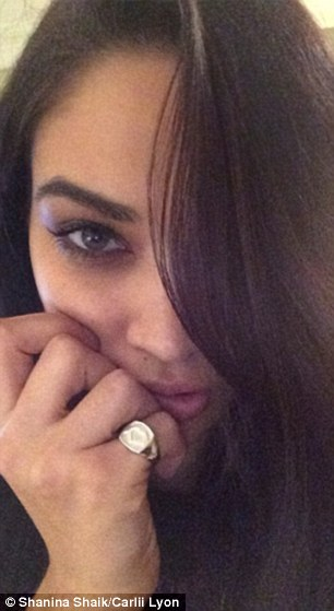 Beauties unite! Aussie supermodels Jessica Hart and Shanina Shaik have both worn the ring in support of marriage equality