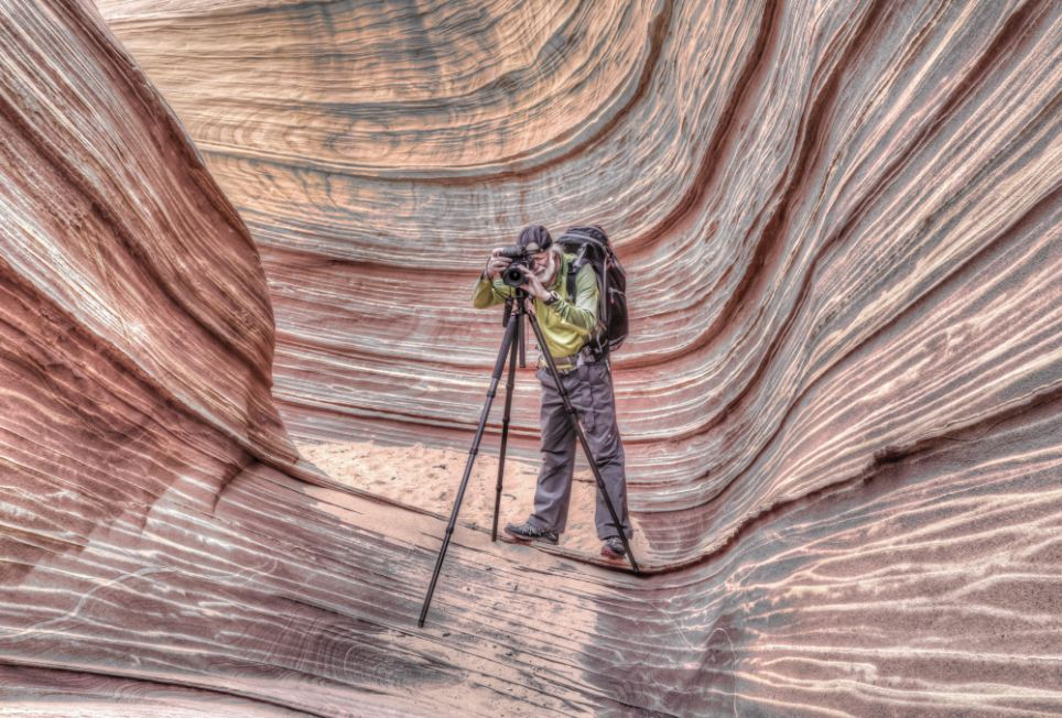 The Bureau of Land Management which only allows 20 people to hike through on any given day. Prospective hikers must obtain a permit several months in advance, according to the park's website, and watch an instructional video on hiking safety