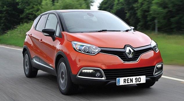 Renault Captur MPG