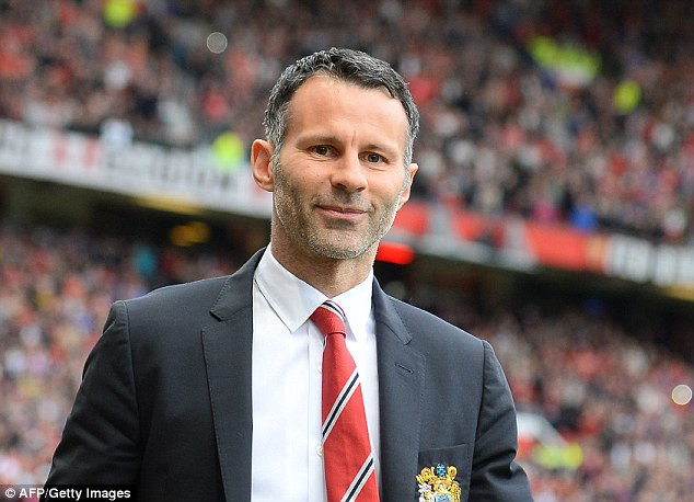 Short-term vision: Ryan Giggs insists he has not considered his future at Old Trafford beyond this season and is focused only on Man United's remaining three matches