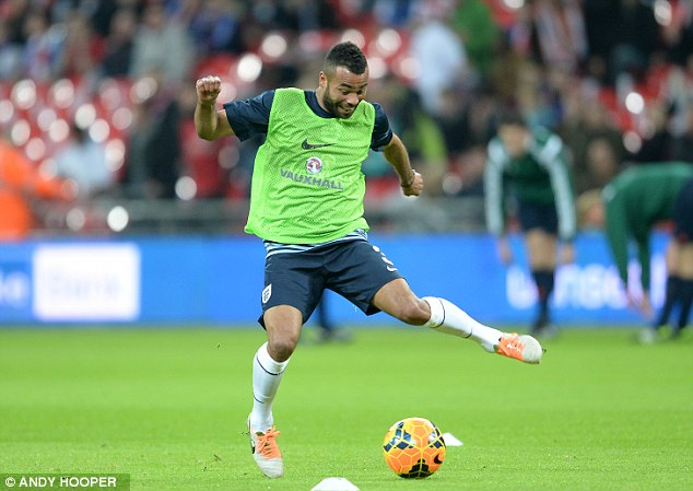 Shoo-in: Ashley Cole should go to the World Cup, but only as back-up to Everton's Leighton Baines