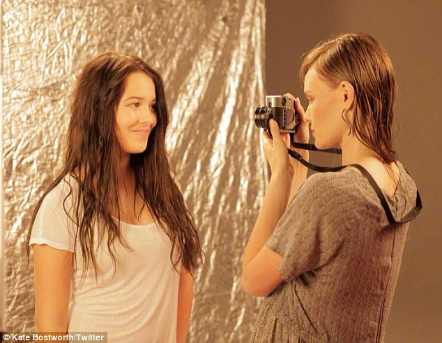Not-so-typical teen: Michael will direct his daughter Jasper - from his marriage to make-up artist Jo Strettell - in next year's ghost horror flick Some Kind of Hate