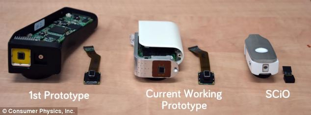 The researchers have already built two working prototypes, buy say they hope to shrink the device further before getting to the final production design (right)