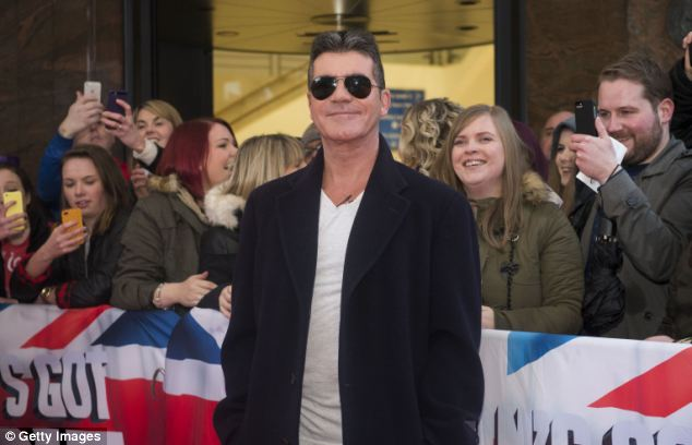 Under fire: Cowell attends the Britain's Got Talent auditions in Belfast, Northern Ireland, on January 18 this year