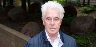 Max Clifford arrives for sentencing at Southward Crown Court