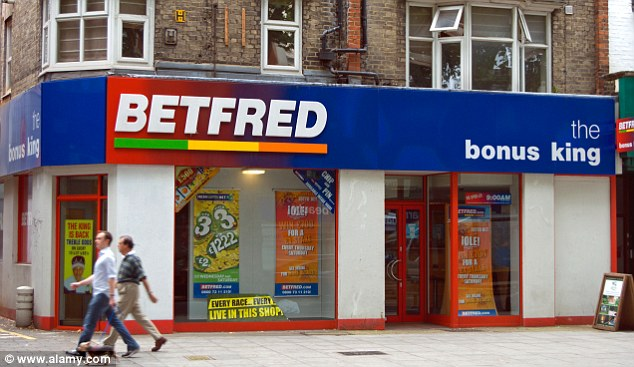 Lure: Betting shop staff get higher bonuses if more customers play on fixed-odds betting terminals