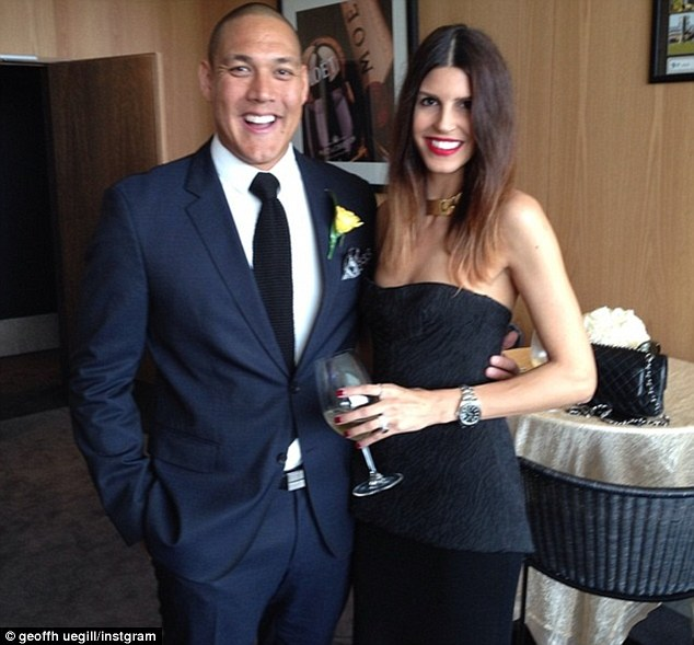 'I'm heartbroken for him': Long-time friend of former Olympic swimmer Geoff Huegill, Ashley Callus, has spoken of his shock after Huegill was charged with cocaine possession at Sydney's Royal Randwick Racecourse last month