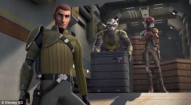 Epic saga: Disney XD unveiled a trailer for the upcoming animated series Star Wars Rebels on Sunday