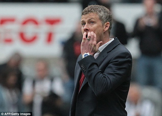 Down and out: Ole Gunnar Solksjaer took Cardiff to the Championship in his short stint in charge