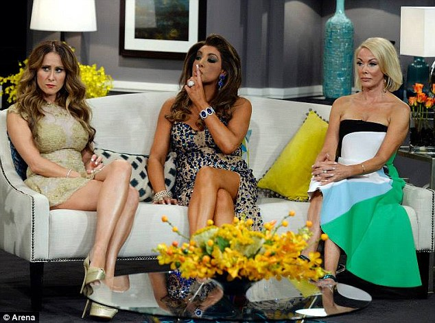 Head-to-head: The conflict still isn't over as the 47-year-old faces off against the other Housewives on the reunion special
