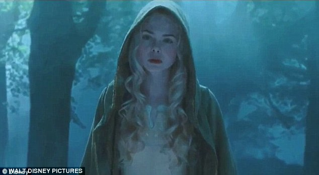 Blockbuster: Elle stars as Princess Aurora in the upcoming film Maleficent