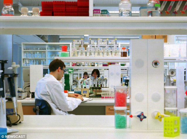 AstraZeneca's research and development department in Boston, Massachusetts