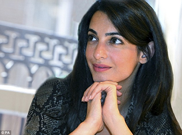 George Clooney's fiancee, London-based human rights lawyer Amal Alamuddin, represents former Libyan spy chief Abdullah al Senussi, 64, who is being tried by the international criminal court (ICC) sitting in Libya