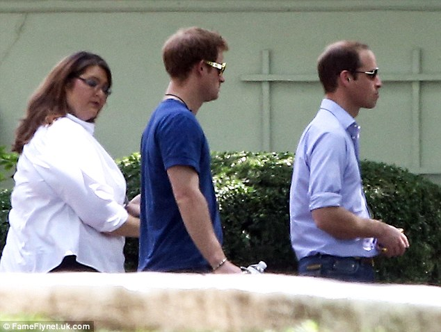 Royals Prince William and Prince Harry enjoy a day of touring Graceland, the 13.8-acre estate in Memphis, Tennessee that was home to rock legend Elvis Presley