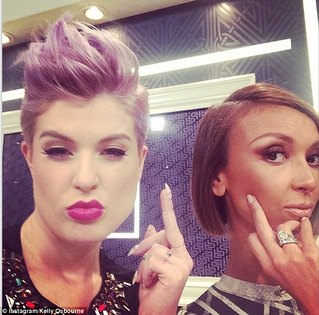 Fashion Police: Giuliana Rancic said her co-host Kelly Osbourne is like a sister to her. Osbourne shared the same sentiment with this snap from her Instagram, in which she wrote: 'I hate when @giulianarancic is not here'