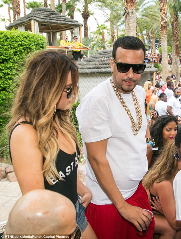'His ego has taken a huge hit because she is publicly rebounding with French': While Khloé initially kept her budding romance with rapper French Montana on the down low, she's since thrown caution to the wind and taken their relationship public, hitting Las Vegas together this past weekend