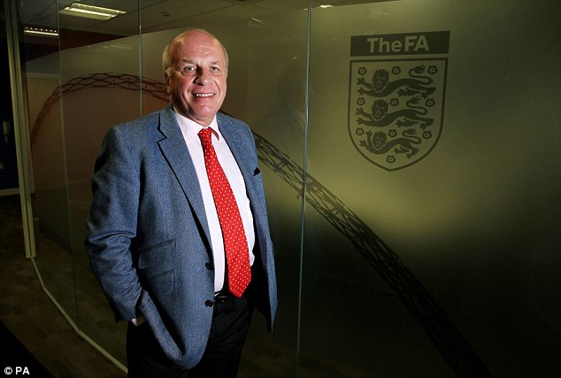 Revolution: Greg Dyke wants a new 'B Team' league between League Two and the Conference