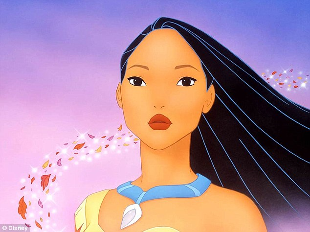 Colours of the wind: Gomes also identified Disney's Pocahontas as another role model for her growing up