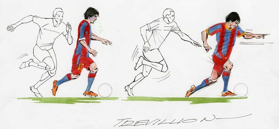 Magic of Messi: Trevillion captures Barcelona's marvel ahead of the 2011 Champions League final against Manchester United