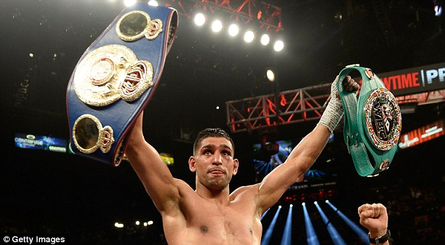 Homecoming: Khan and his management are expected to be in Bolton at the same time