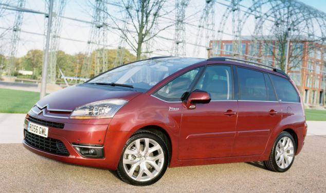 Bottom of the pile: The Citroen Grand C4 Picasso is most likely to fail its first MoT