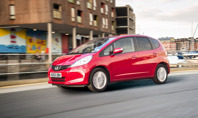 Honda Jazz: The Swindon-built car is most likely to pass first time health check