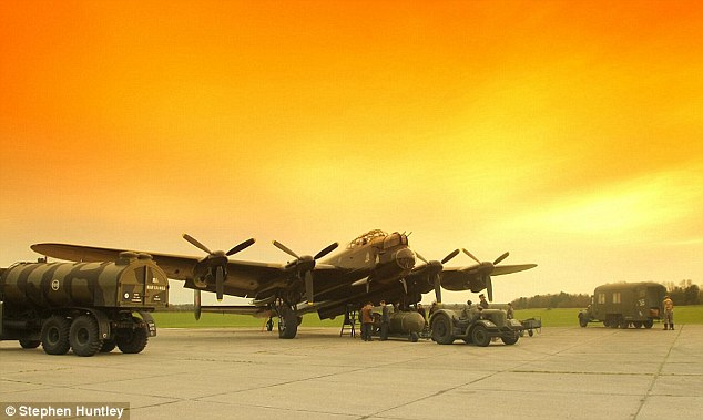 Famous flyer: The Lancaster is among the most recognisable aircraft from the Second World War