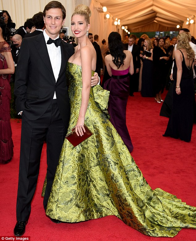Seriously photogenic: Ivanka and Jared are ever the picture perfect couple on the red carpet
