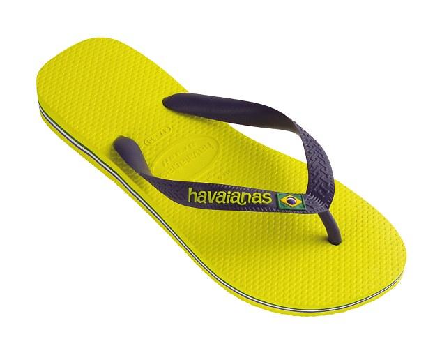 ... the Havaianas! Brazil's own flip-flop