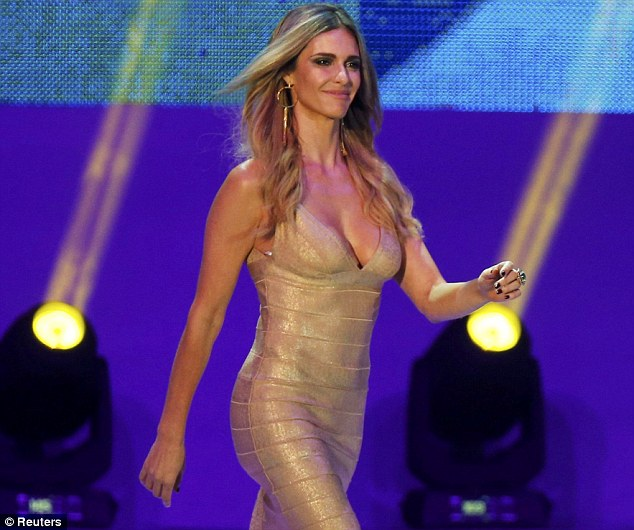 Fashion icon: Model and FIFA presenter Fernanda Lima is an ambassador for this summer's hottest look...