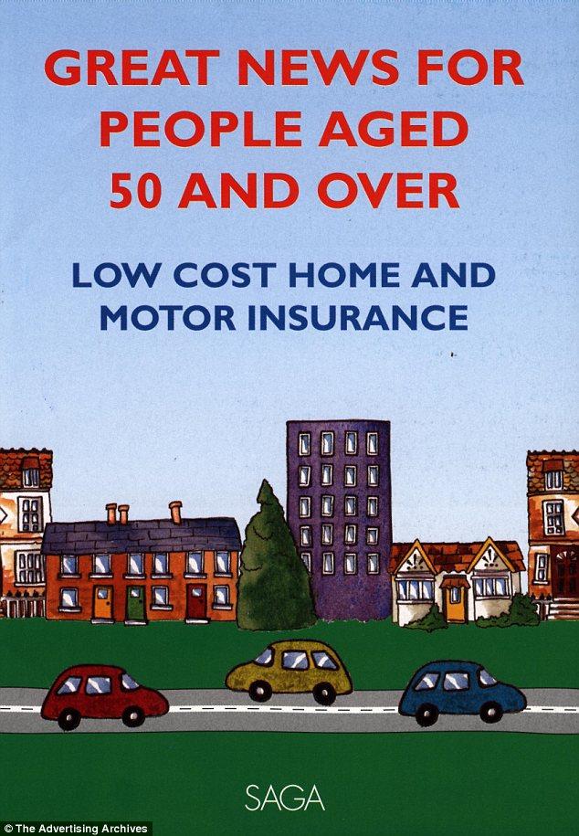 Advert: A UK Saga Insurance Magazine Advert - but is it worth buying shares in saga