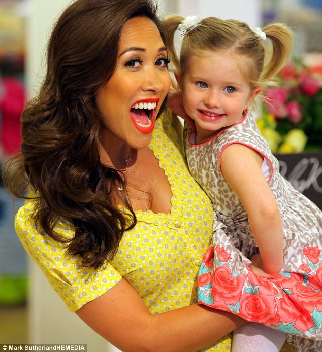 Myleene Klass and model Jessica Riddell: Mothercare uses the TV star  in its adverts