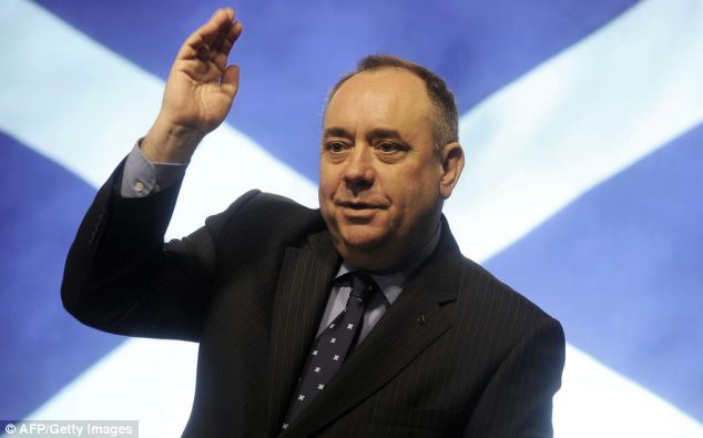 Fox also took a swipe at Scottish First Minister Alex Salmond, saying he is 'astonished and appalled' whenever a Western politician speaks of their admiration for Putin
