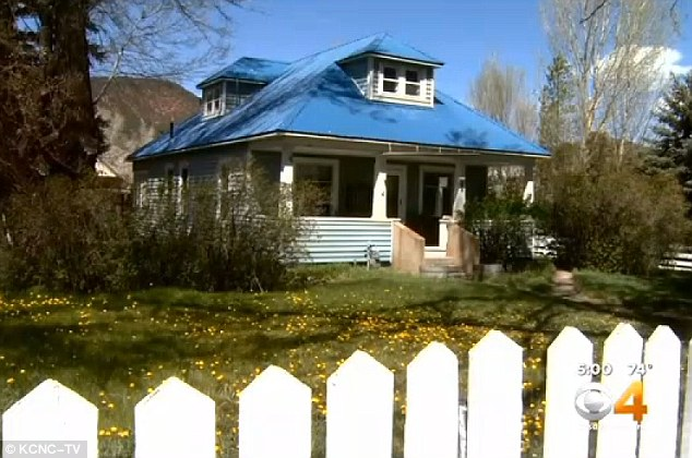 Shocking find: Eagle County deputies who were called to this tidy Gypsum home discovered in May Joseph Kelly Jr dead from gunshot wounds to the head