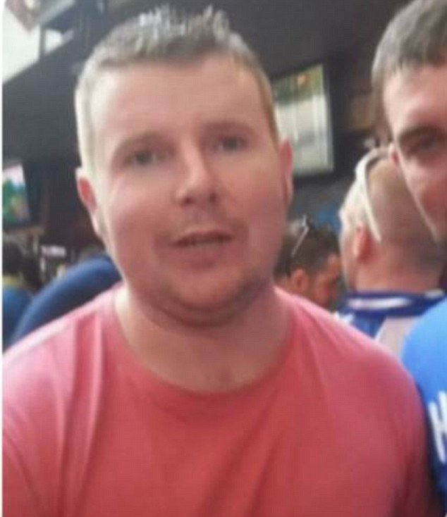 Five day ordeal: Donie O'Sullivan was found in an office block stairwell as his brother and more than a hundred young Irish people were out on their third night of searching for him